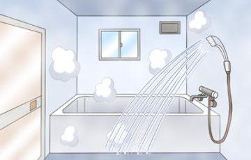 風呂場 排水口 掃除