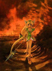 リース_炎上するローラント城